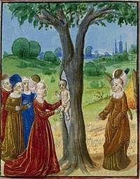 La nascita di Adone S. xv PARIS bn MS. FR. 137