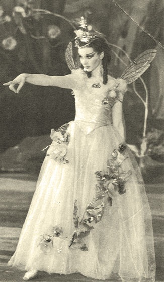 vivien leigh as titania midsummer 1937