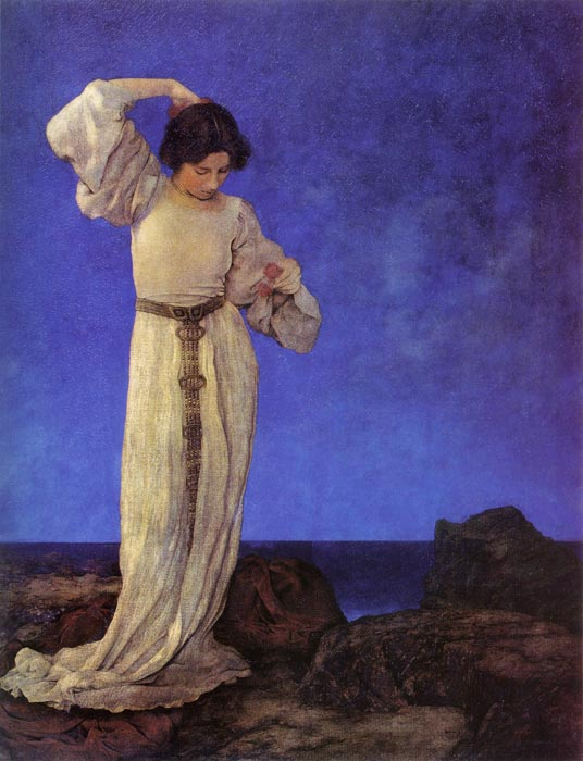 Griselda, 1910 by Maxfield Parrish