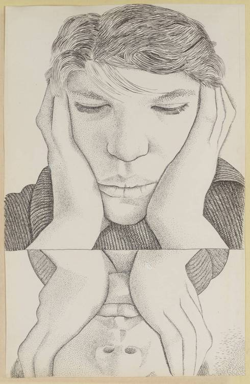 Narcissus 1948 by Lucian Freud 1922-2011