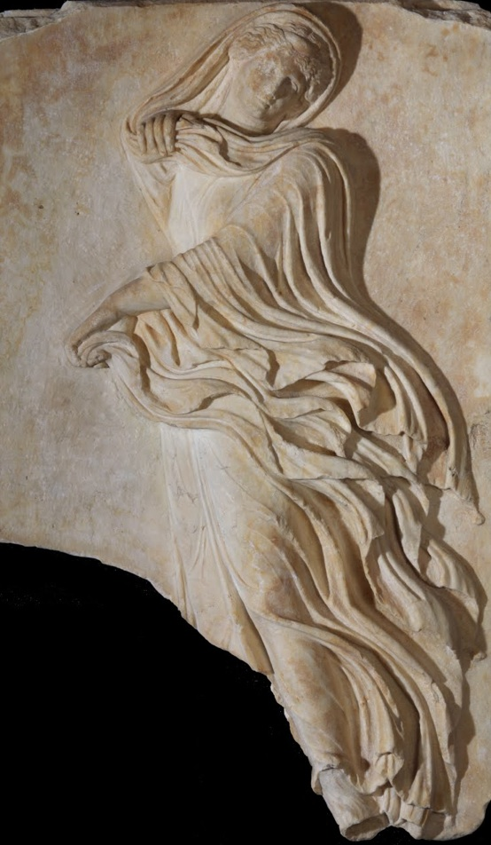 Sanctuary of Dionysos. Female Dancer. 1st Cent. BC