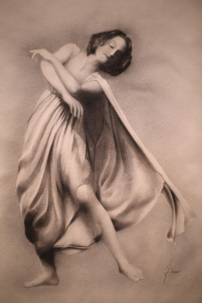 Isadora Duncan by Damir Simic