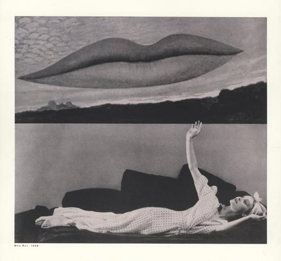 Man Ray. Harper's Bazaar, 1936.