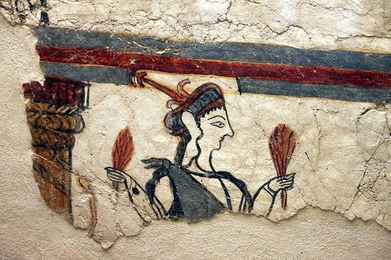 Potnia Theron, Mycenae by Klearchos Kapoutsis, via Flickr