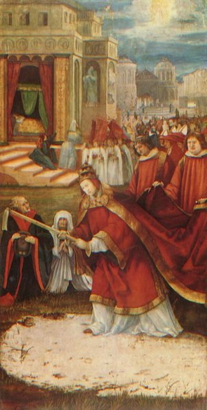 Grunewald, Establishment of the Santa Maria Maggiore in Rome, 1517-1519.