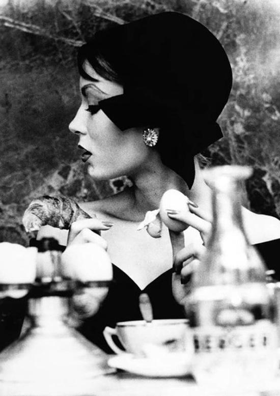 Mary, Egg & Croissant, 1957.