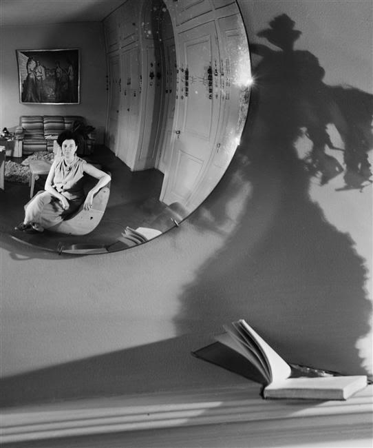 André Kertész, Peggy Guggenheim, New York, 1945