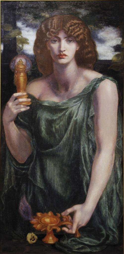 Dante Gabriel Rossetti Mnemosine