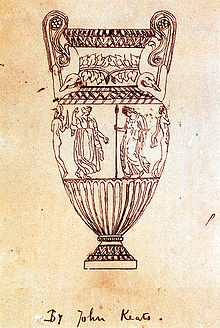 Ode on a Grecian Urn by John Keats Tracing of an engraving of the Sosibios vase by Keats