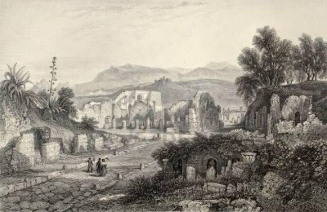 Original de Wolfensberger y Radcliffe Firenze 1842 Luigi Bardi editor