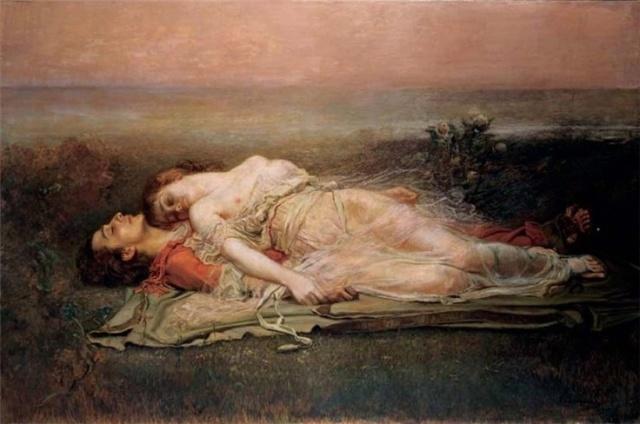 Rogelio de Egusquiza - Tristan e Isolda