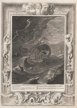 The Dioscuri or Castor and Pollux the Guardians of Mariners