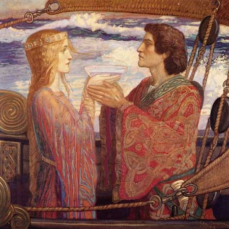 Tristan and Isolde John Duncan, 1912