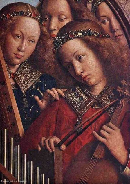 Angels-playing-Music-(Detail)