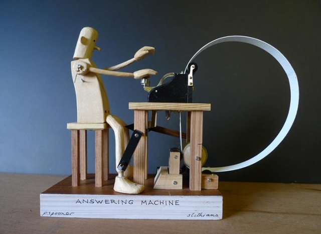 Automata Answering Machine by Pail Spooner.