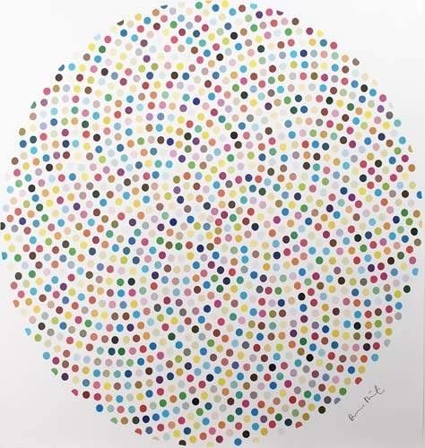 Damien Hirst (1965-) Valium 2000