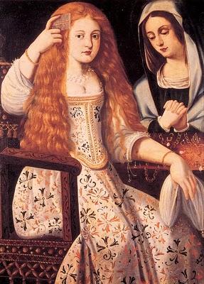 Retrato atribuido a la calderona - Museo de las Descalzas reales
