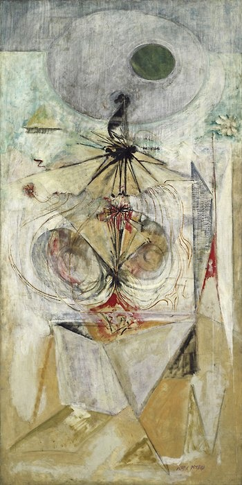 Tiresias 1944 oil and charcoal on canvas Mark Rothko 1903-1970 American b.Latvia