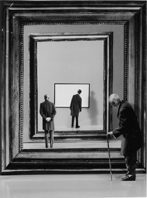 Gilbert Garcin. Flash back, 2001