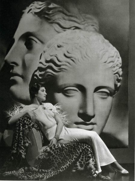 Robe du soir  Paquin 1934  Photo George Hoyningen Huene
