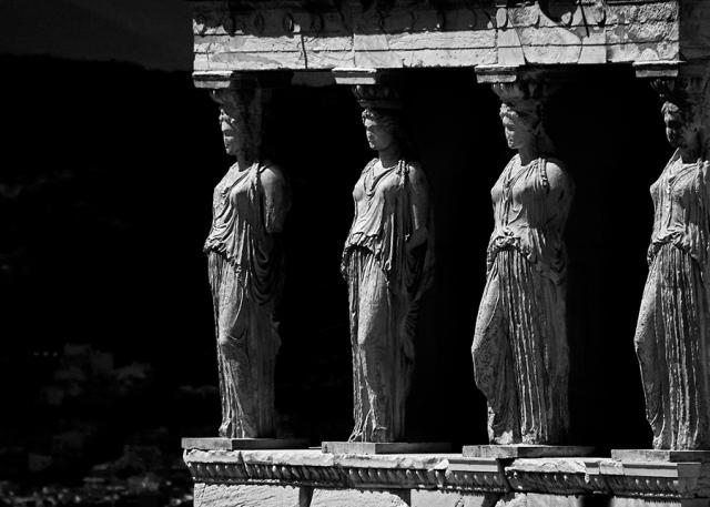 caryatids