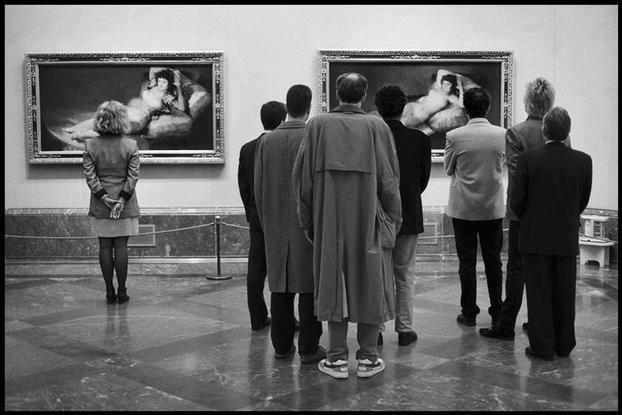 Elliott Erwitt, 1995. Madrid. Museo del Prado