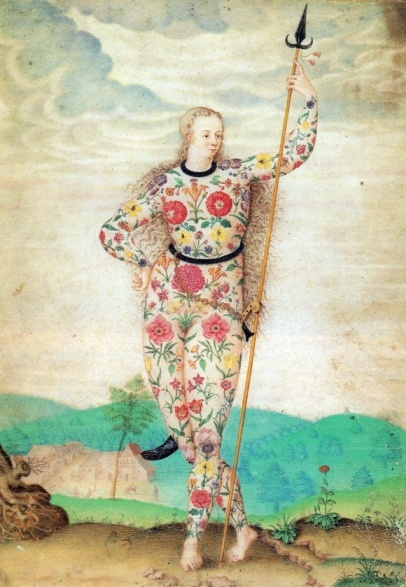 Jacques Le Moyne de Morgues  Young Daughter of the Picts, c 1585.