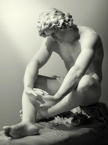 Le Desespoir - Jean-Joseph Perraud, 1869 Musée d'Orsay -Paris