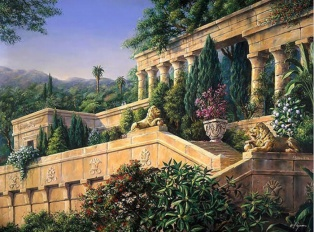 Giverny Bob Pejman - Hanging Gardens of Babylon