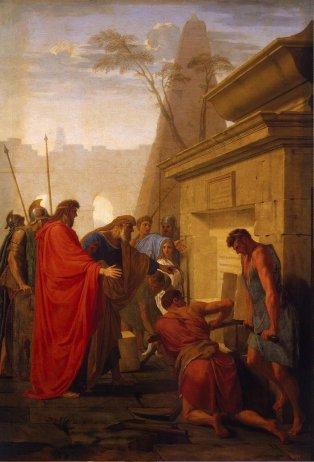 Le_Sueur_Eustache-ZZZ-Darius_Hystaspis_Opens_the_Tomb_of_Nitocry