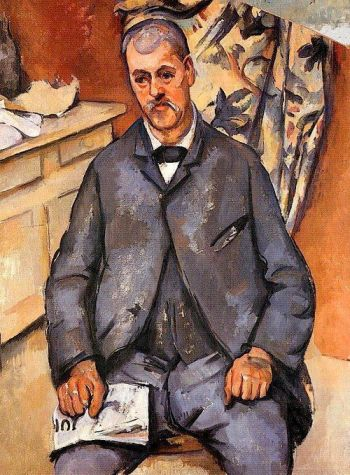 Seated Man, c. 1898-1900 Paul Cézanne