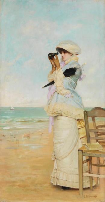 vicente-palmaroli-gonzalez-en-vue-1880-óleo-sobre-tabla-43x22cm-museo-de-arte-moderno-legado-de-v-palmaroli-reboulet-cuadro-de-gabinete
