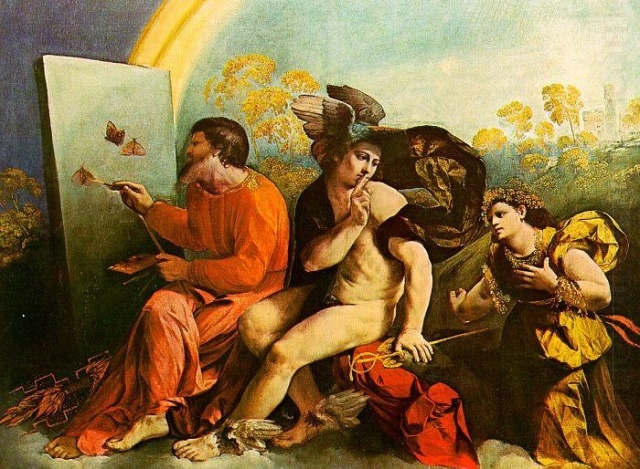 Dosso Dossi - Jupiter, Mercury and Virtue