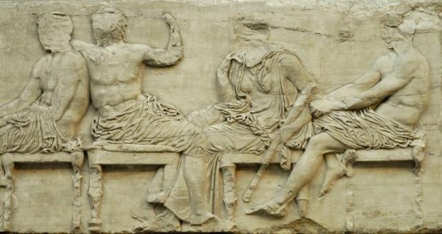 26 Hermes, Dionisos, Demeter y Ares, friso este - copia