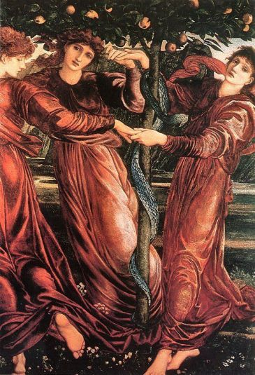 Edward Burne-Jones, The Garden of the Hesperides 1869-73.
