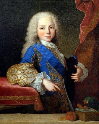El Infante Don Felipe de Borbón y Farnesio (1720-1765) En su Infancia antes de qué fuera Duque de Parma. Museo de Bellas Artes de Budapest. Madrid. Obra de Jean Ranc