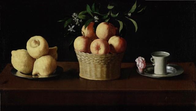 naturaleza-muerta-con-limones-naranjas-y-una-rosa-francisco-de-zurbarc3a1n-1633