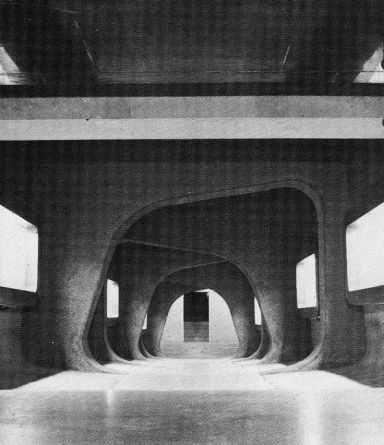 FREDERICK KIESLER AND ARMAND BARTOS SHRINE OF THE BOOK, ISRAEL MUSEUM IN JERUSALEM, 1965