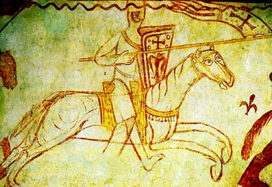 Templario-en-un-fresco-medieval