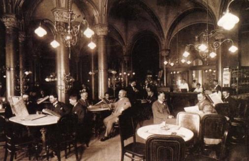 1900 im Café Central (© Café Central, Wien)