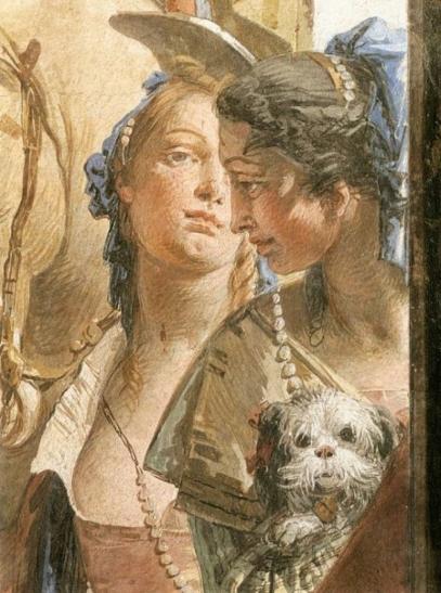 Gastmahl-der-Kleopatra-Detail-von-Giovanni-Battista-Tiepolo-35092