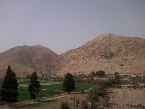 monte qarantal-Jericó