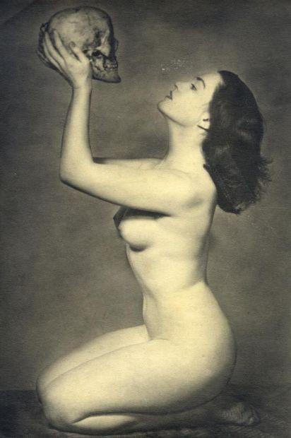Etude de nu. Jeune Femme Aux Vanités, c. 1930 by John Everard