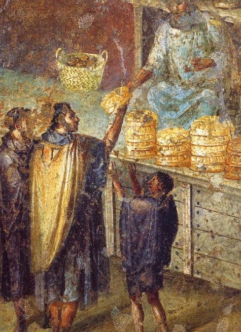 Fresco casa Julia Felix panadero