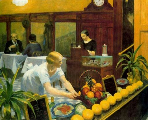 Hopper Edward, Tables for ladies (1930)
