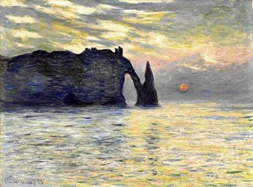 Monet, Atardecer