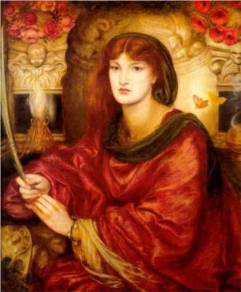 Sibylla Palmifera - Dante Gabriel Rossetti