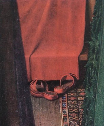 Portrait-of-Giovanni-Arnolfini-and-his-Wife-detail-e1317846652684