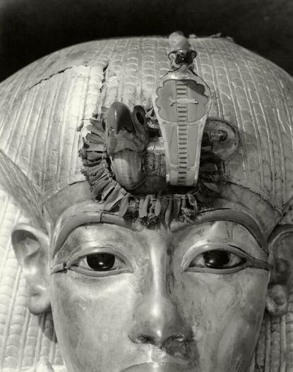 Face of the Outermost Coffin of Tutankhamun, Spring 1926