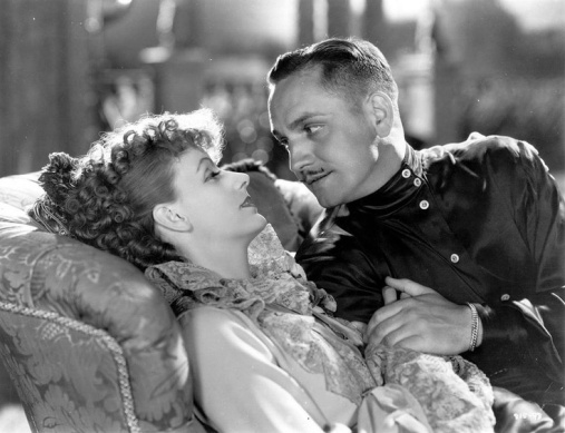 Greta Garbo y Fredic March en Anna Karenina (Clarence Brown,1935)